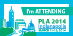 PLA 2014 I'm Attending Badge
