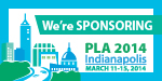 PLA 2014 We're Sponsoring Badge