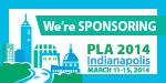 PLA 2014 We're Sponsoring Badge