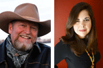 Adult Author Lunch speakers Craig Johnson & Lisa Unger