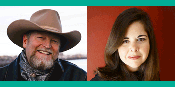 Adult Author Lunch speakers Craig Johnson and Lisa Unger