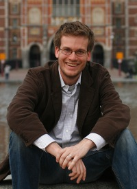 YA Author Lunch speaker John Green (photo by Ton Koene)