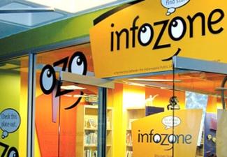 infoZone at the Children's Museum